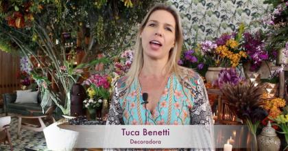 Tuca Benetti – no Enflor Garden Fair